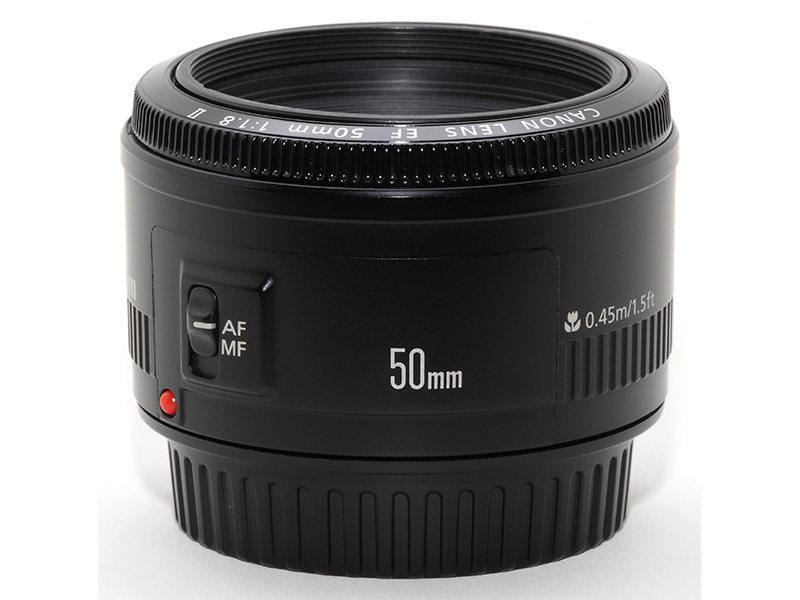 Canon 50mm F 1.8 II