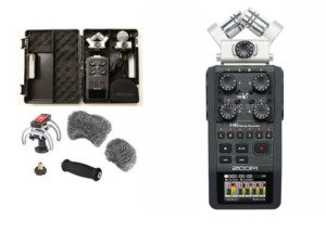Mobiler Audio Recorder Zoom H6 6-Kanal