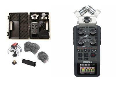Mobiler Audio Recorder Zoom H6 6-Kanal