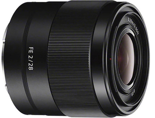Sony FE 28mm f/2, Full Frame E-Mount