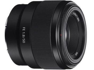 Sony FE 50mm F1.8, Full Frame E-Mount 1
