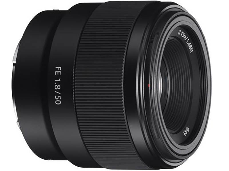 Sony FE 50mm F1.8, Full Frame E-Mount 1