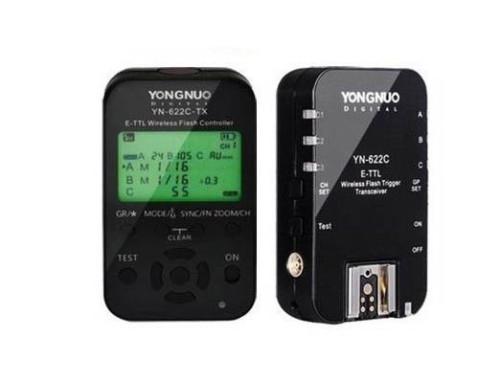 Yongnuo YN-622 C e-TTL II Funk-Blitzauslöser Kit zu Canon
